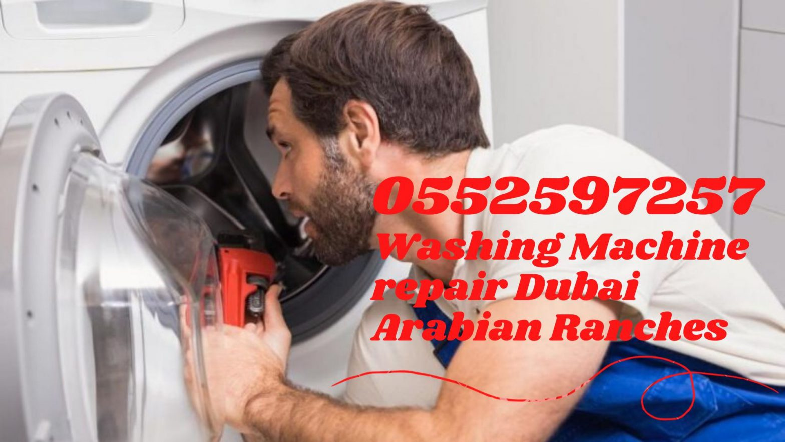 Washing machine repair Dubai Arabian ranches