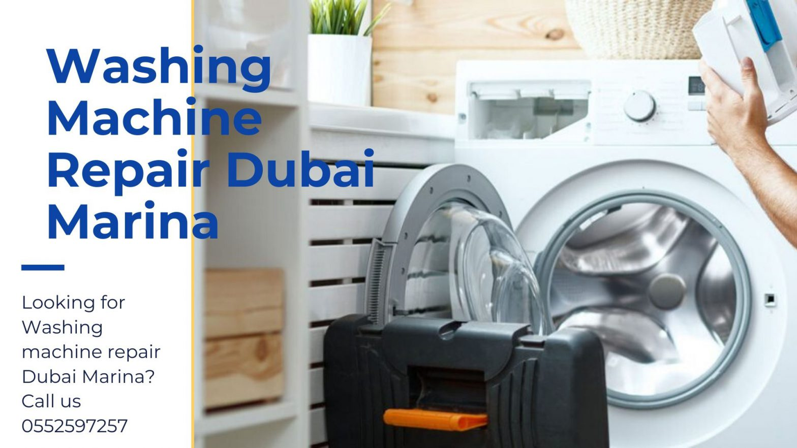 Washing machine repair Dubai marina