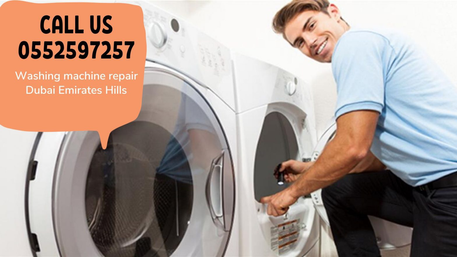 Washing Machine repair Dubai Emirates Hills