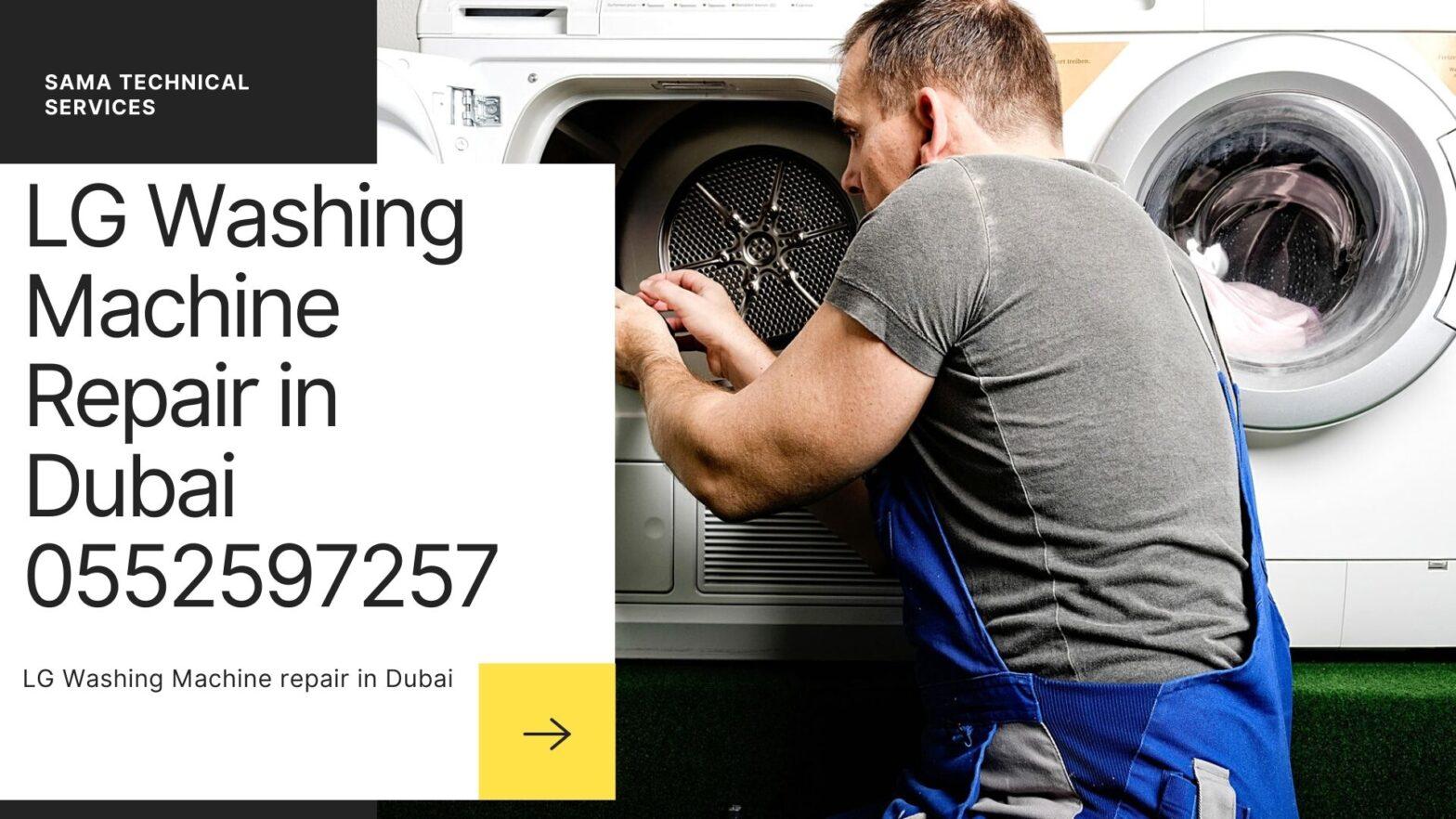 LG Washing machine repair in Dubai