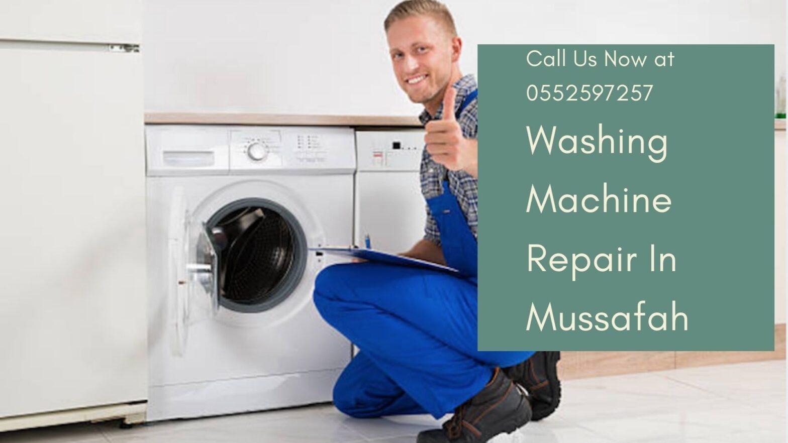 Washing Machine repair in Mussafah