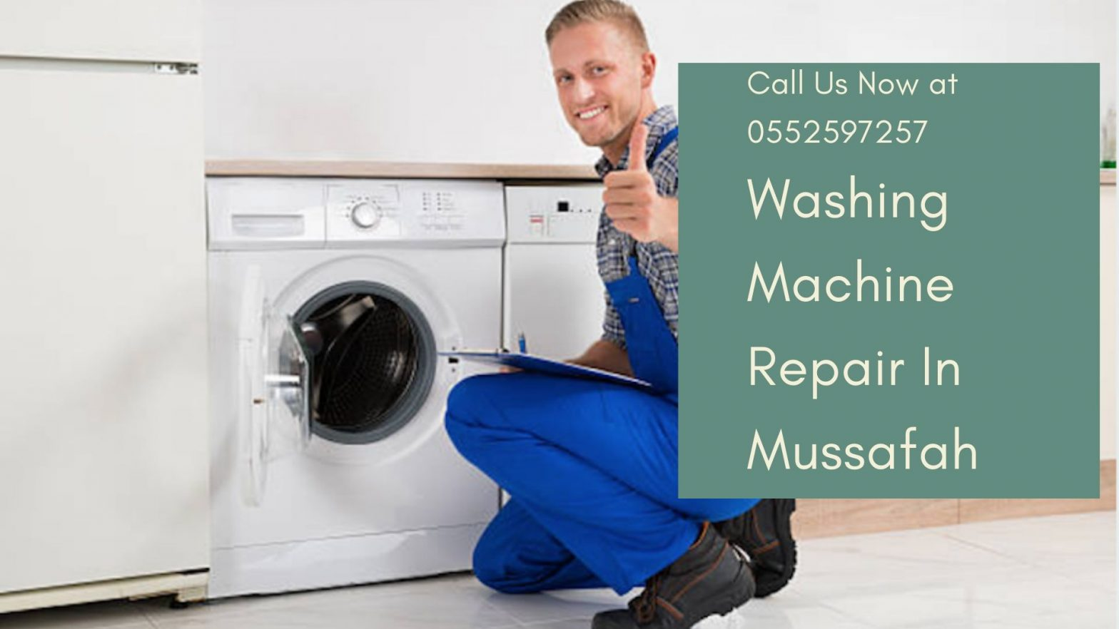 Washing Machine repair in Mussafah