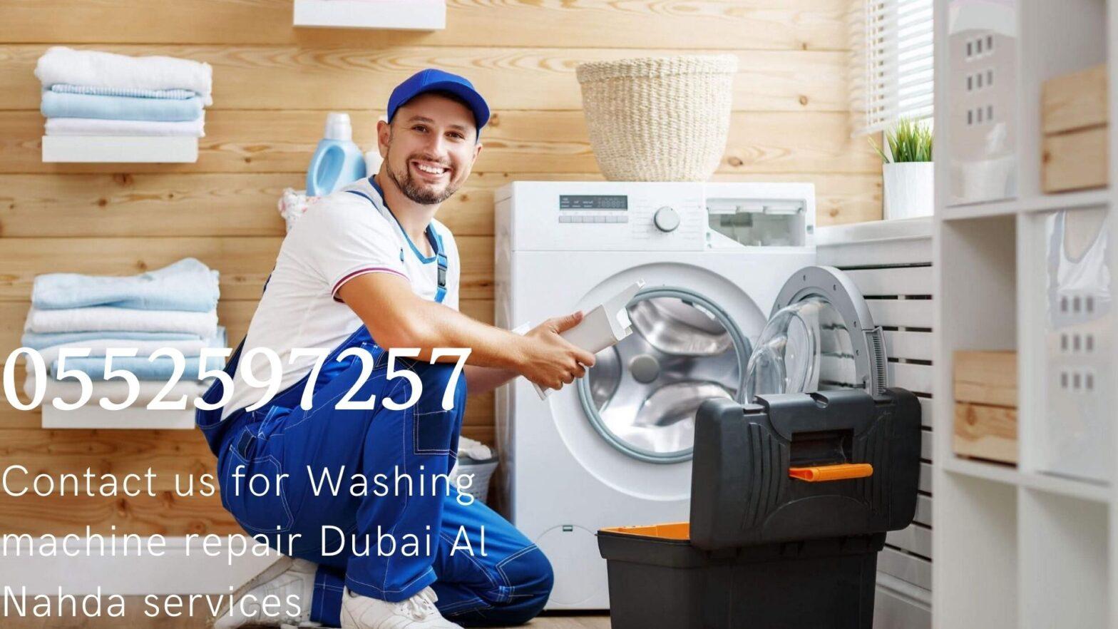Washing machine repair Dubai Al Nahda