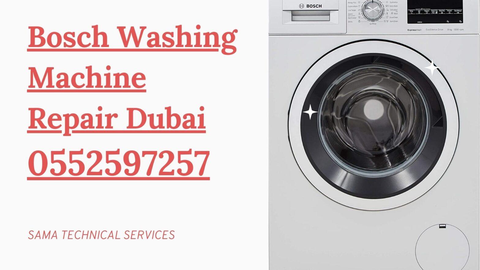 Bosch Washing machine repair Dubai