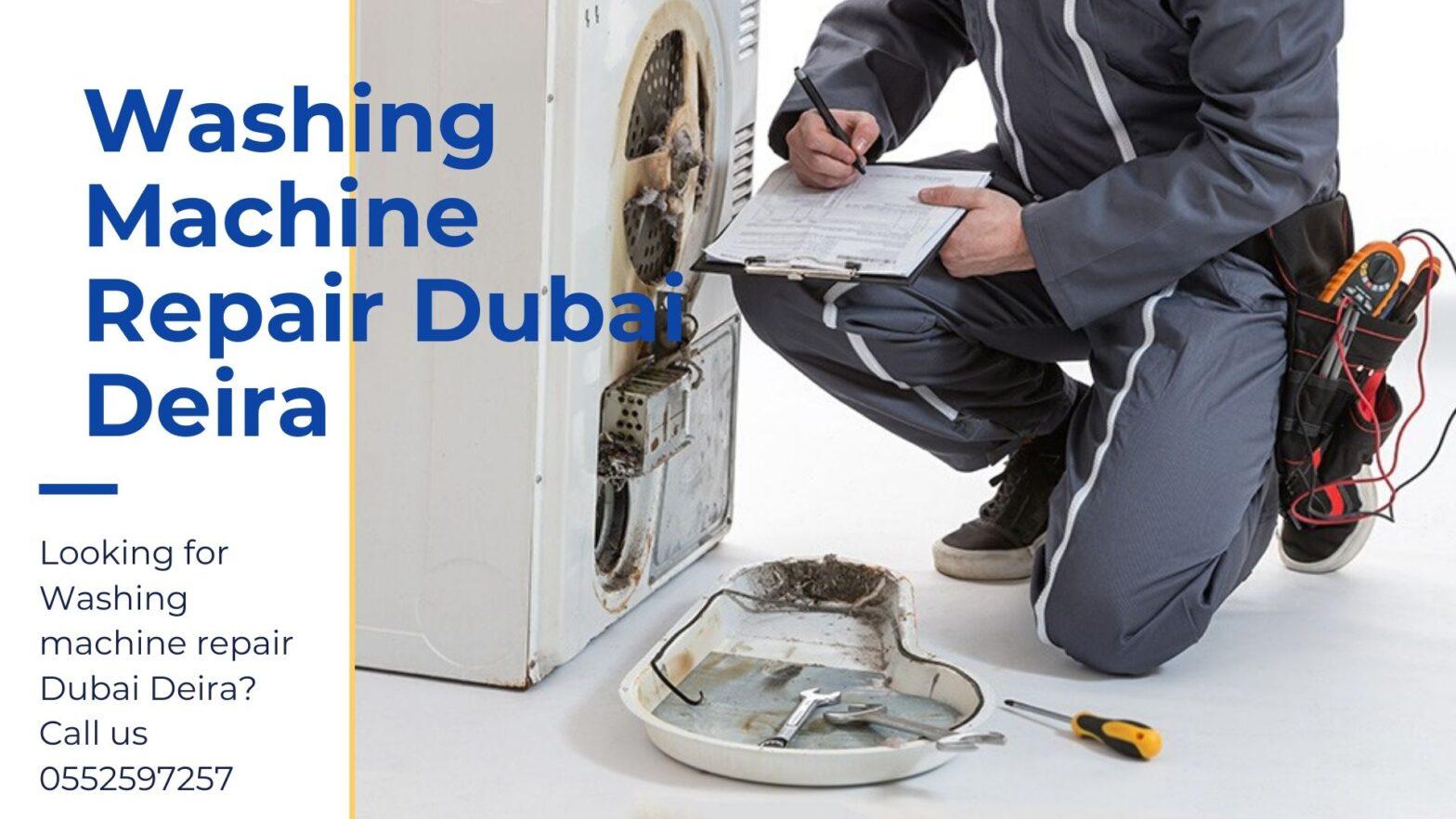 Washing machine repair Dubai Deira